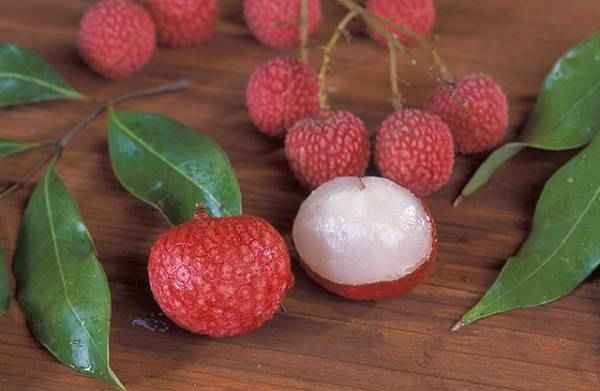 picture of lychees