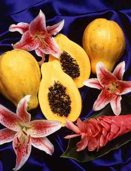 picture of papayas